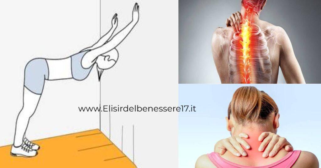 Cervicale e mal di schiena? Ecco alcuni esercizi da..